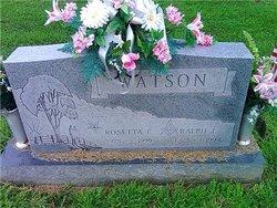 Rosetta Eileen <i>Lang</i> Watson