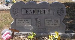 Robert Dee Barrett