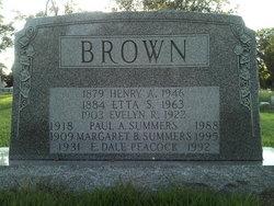 Henry Arthur Brown