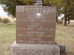 Mary Jane <i>Murray</i> Currey