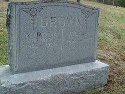 Sarah Martitia Letisha <i>Potter</i> Brown