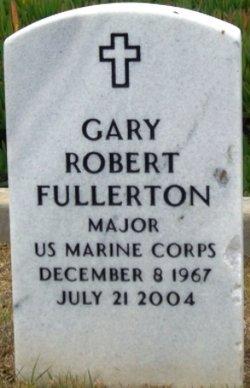 Maj Gary Robert Fullerton