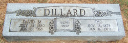Imo <i>Olive</i> Dillard