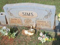 Milford L. Paw Paw Sims