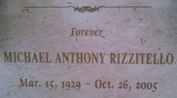 Michael Anthony Mike Rizzi Rizzitello