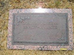 Dorothy Lorene <i>Hickman</i> Brady-Warner