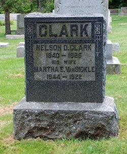 Martha E. <i>Van Sickle</i> Clark