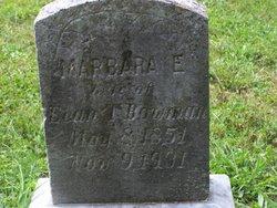 Marbara E Margaret <i>Earp</i> Bowman