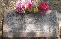 Petra R <i>Morales</i> Antillon