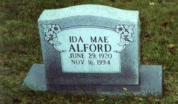 Ida Mae <i>Clagg</i> Alford