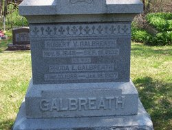 Rhoda E <i>Holland</i> Galbreath