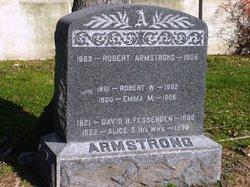 Robert W Armstrong