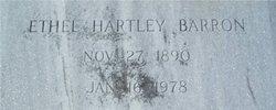 Ethel <i>Hartley</i> Barron