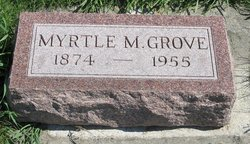 Myrtle Maude <i>DeGroff</i> Grove