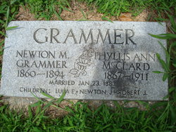 Phyllis Ann <i>McClard</i> Grammer