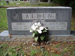 Annie W. <i>Boddie</i> Allen