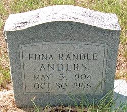 Edna <i>Randle</i> Anders