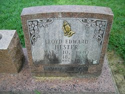 Lloyd Edward Hester