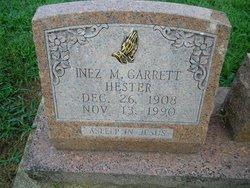 Inez Mae <i>Garrett</i> Hester