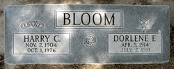 Dorlene E <i>Weekley</i> Bloom