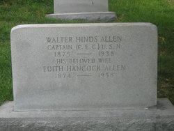 Edith <i>Hancock</i> Allen