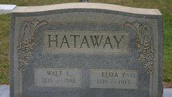 Eliza <i>Pate</i> Hattaway