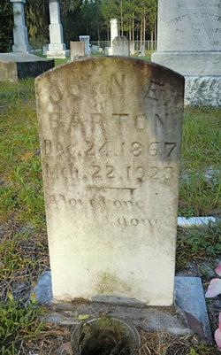 John E Barton