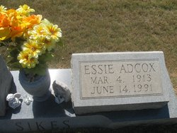 Essie <i>Adcox</i> Sikes