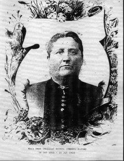 Mary Dean Mollie <i>Bethel</i> Alford