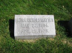 Laura <i>Nichols</i> Matter
