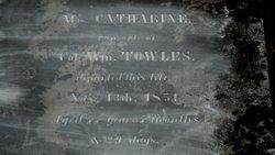 Mrs Catharine <i>Culbreath</i> Towles