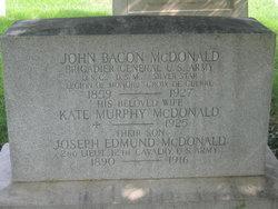 Kate M <i>Murphy</i> McDonald