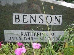 Katherine M <i>Ball</i> Benson