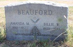 Billie W. Beauford