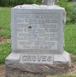 Infant Daughter Groves