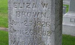 Eliza <i>Whitman</i> Brown