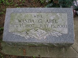 Wanda G. Abel
