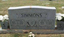 A Harold Simmons