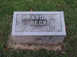 Amanda Malvina <i>Clevenger</i> Beck