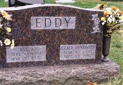 Grace Elizabeth <i>Henthorn</i> Eddy