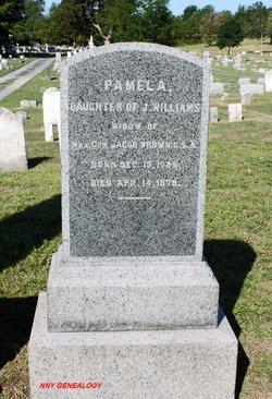Pamelia <i>Williams</i> Brown