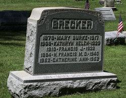 Mary <i>Burke</i> Brecker
