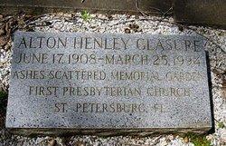 Rev Alton Henley Al Glasure
