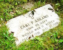 Earl P Abrams