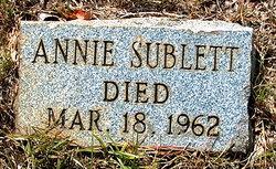 Annie Sublett