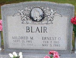 Mildred M <i>McFee</i> Blair