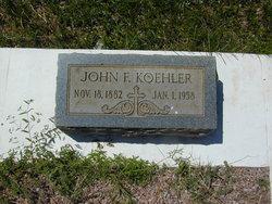 John F. Koehler