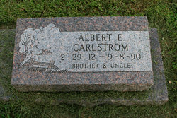 Albert E Carlstrom