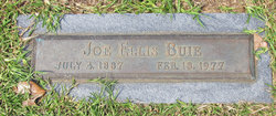Joe Ellis Buie