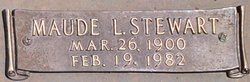 Maude Leinda <i>Stewart</i> Alexander